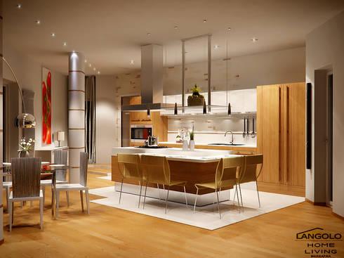 Cucina moderna :  in stile  di LANGOLO HOME LIVING