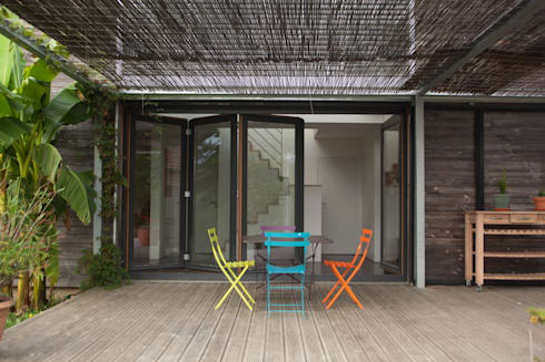 maison passive tabanac gironde par poly rythmic architecture homify. Black Bedroom Furniture Sets. Home Design Ideas