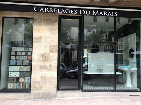Carrelages du marais boutique homify for Carrelage du marais