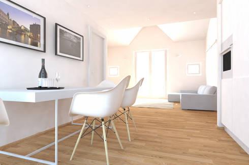 Living_2: Soggiorno in stile in stile Moderno di aDC architetto Davide Conconi