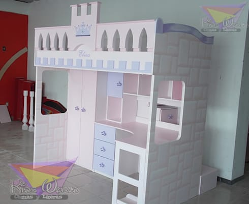 Recamaras para princesas de camas y literas infantiles - Cama princesa nina ...