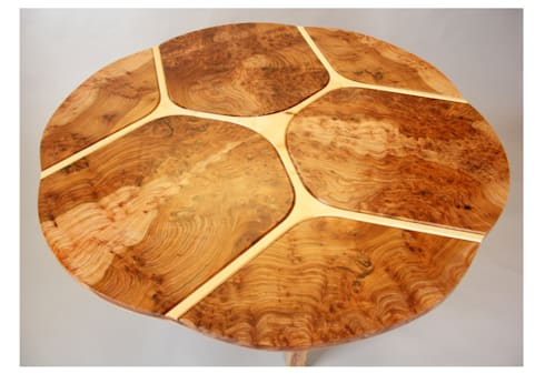 Trinity dining table:   by Tom Cooper Fine Furniture