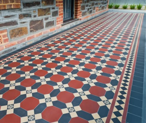 Geometric Victorian Tiles By Original Features Homify