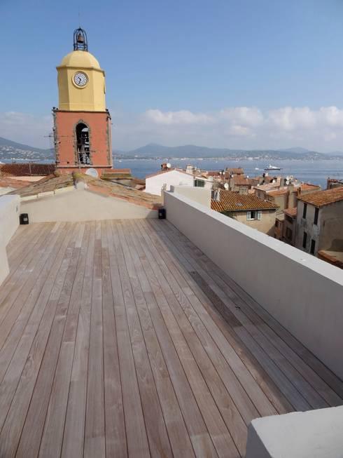 Projekty,  Taras zaprojektowane przez Casa Architecture