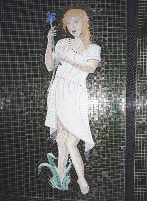 eclectic Bathroom by Opus décor