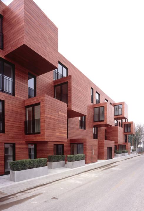 Bogenallee Wohnen [+]:  Mehrfamilienhaus von blauraum architekten