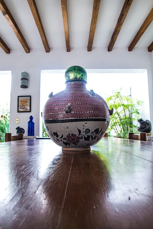 Detalles Mexicanos: Hogar de estilo  por Mikkael Kreis Architects