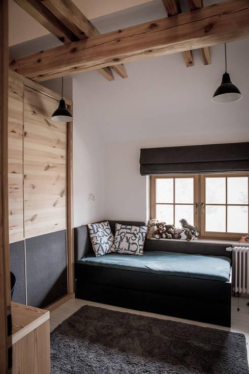Pokój dla chłopca : styl , w kategorii Pokój dziecięcy zaprojektowany przez grupa KMK sp. z o.o