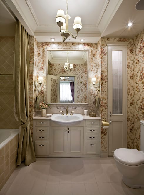 classic Bathroom by VVDesign