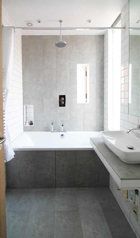 The Cube:  Bathroom by Adam Knibb Architects