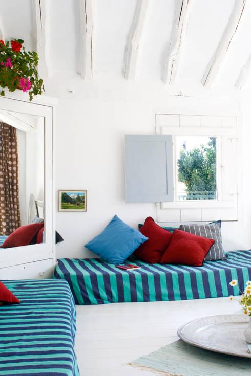 Bed & Breakfast en La Rioja: Dormitorios de estilo mediterráneo de Casa Josephine