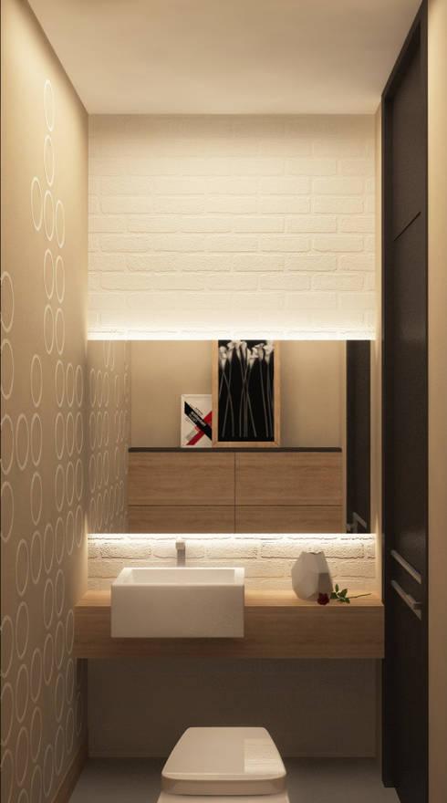 Гостевой санузел: Ванные комнаты в . Автор – studio forma