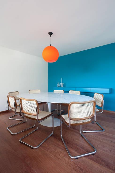 Comedores de estilo moderno de Suite Arquitetos