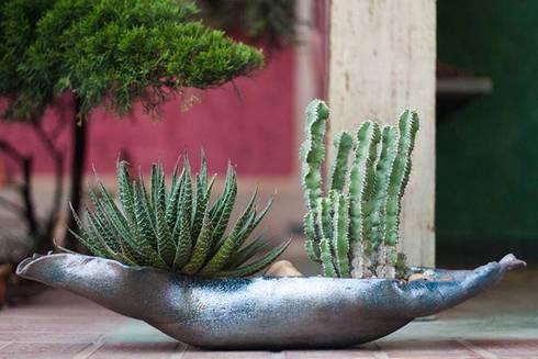 Mini-Jardins : Jardim  por Luiza Soares - Paisagismo