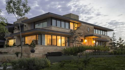 Casa DF: Casas de estilo moderno por Artigas Arquitectos