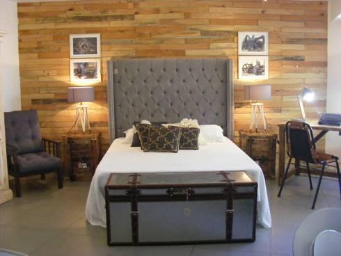 Dormitorio vintage de noelia nik designs homify Recamaras estilo vintage