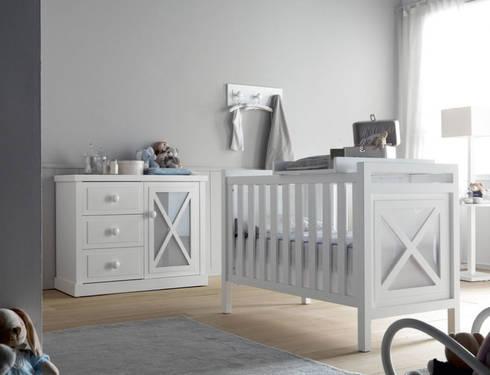 Habitación Aspas: Habitaciones infantiles de estilo  por Baby Luna