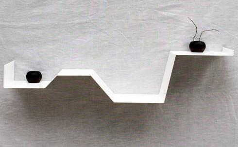 des tag res murales au design sobre et raffin par homify. Black Bedroom Furniture Sets. Home Design Ideas