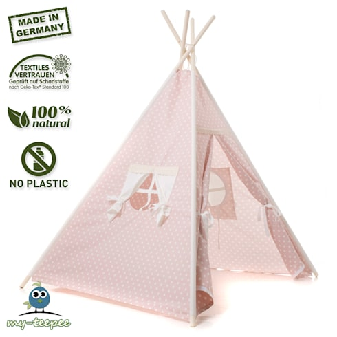 KINDER-SPIELZELT ROSA by my-teepee® | homify