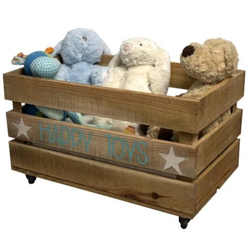Cajas de madera infantiles de happy home barcelona homify - Cajas de madera barcelona ...