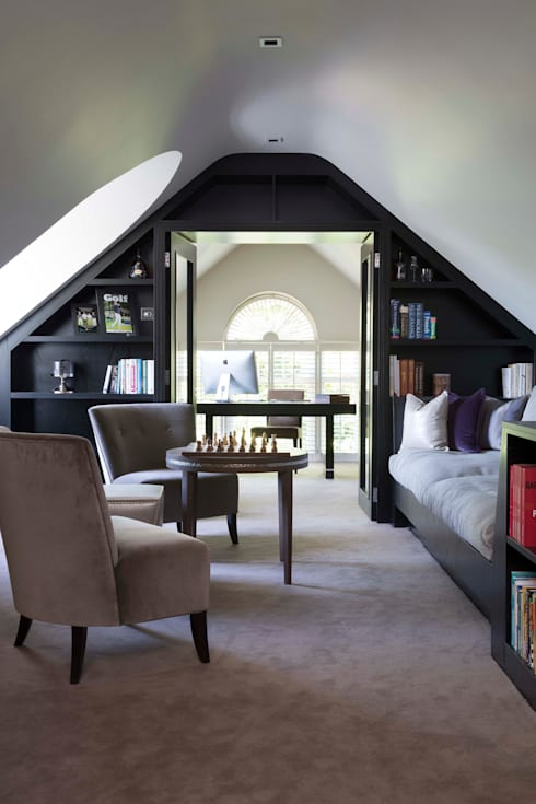 Oxshott Surrey England:   by Halo Design Interiors