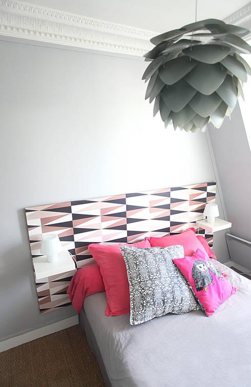 Chambre à coucher: Chambre de style de style eclectique par Sandra Dages