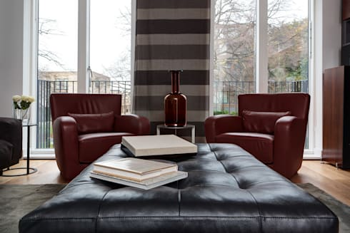 Cambridge town house: modern Houses by At Home Interior Design Consultants