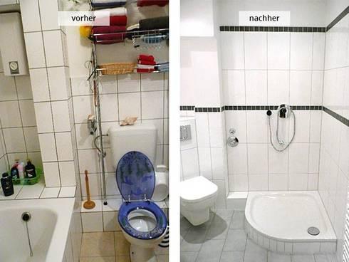 neugestaltung eines bades von hws handwerker vermittlunsgservice gmbh homify. Black Bedroom Furniture Sets. Home Design Ideas