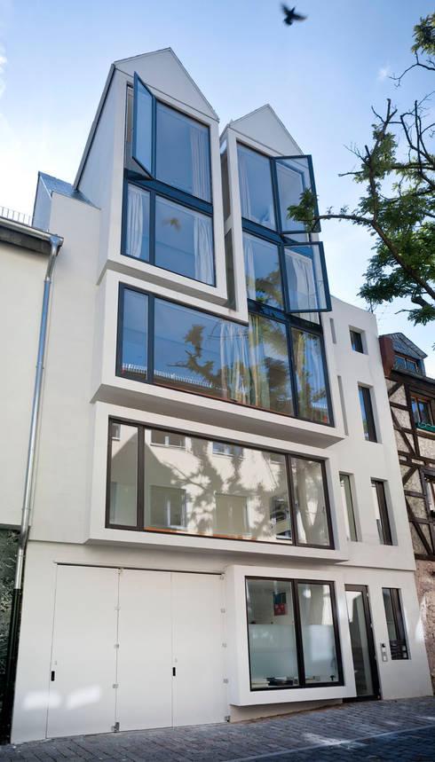 Fassade:  Häuser von Marie-Theres Deutsch Architekten BDA