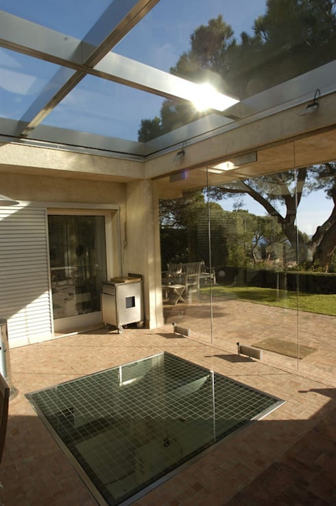 Projekty,  Domy zaprojektowane przez Vincent Coste Architecte