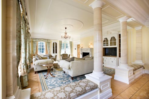 Reception Room: classic Houses by Christopher Cook Designs Limited