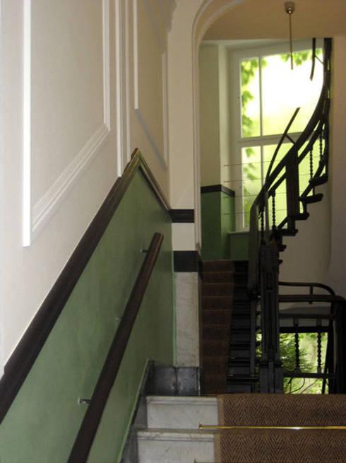 Treppenhaus Wandgestaltung treppenhaus wandgestaltung atelier wandlungen gbr homify