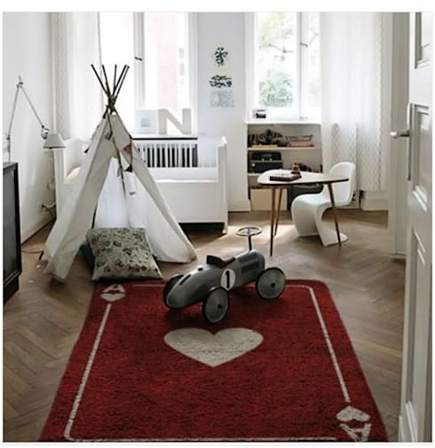 Alfombras lavables infantiles  100% Algodón: Paredes y suelos de estilo  de aratextil hogar 26 S.L.