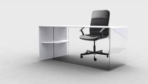 simple: Studio in stile in stile Moderno di Giacomo Giustizieri - Industrial Designer