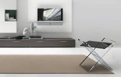 iX: Soggiorno in stile in stile Moderno di Giacomo Giustizieri - Industrial Designer