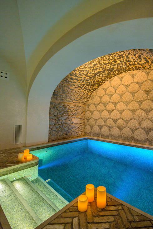 mediterraner Pool von Francesco Della Femina