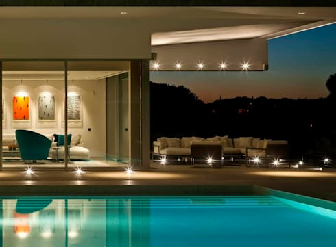 Quinta do Lago:  Houses by Staffan Tollgard Design Group