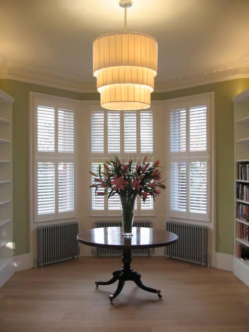 Three Tier Drum Chandelier:  Living room by Boatswain Lighting