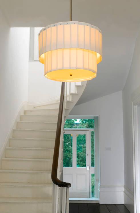 Drum Chandelier:  Living room by Boatswain Lighting