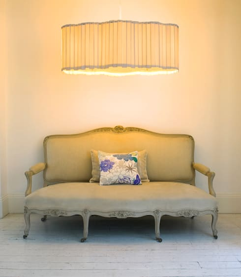 Living room تنفيذ Boatswain Lighting