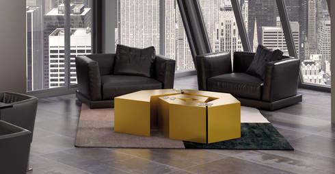 Mesa Spira Küpu: Salones de estilo moderno de Küpu Muebles Inesperados