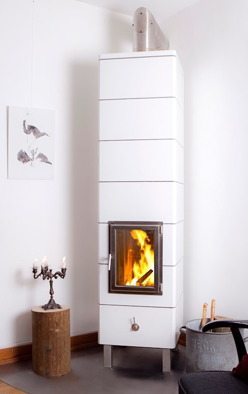 Livings de estilo  por Die Ofen-Manufaktur Dislich und Kohler