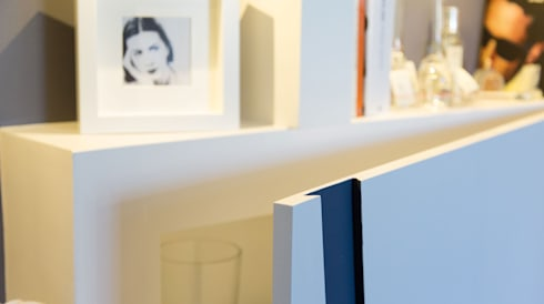PW: Soggiorno in stile in stile Moderno di LI-VING design ideas