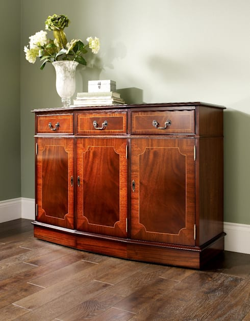 Antique Reproduction Sideboard:  Dining room by Parklane Furniture