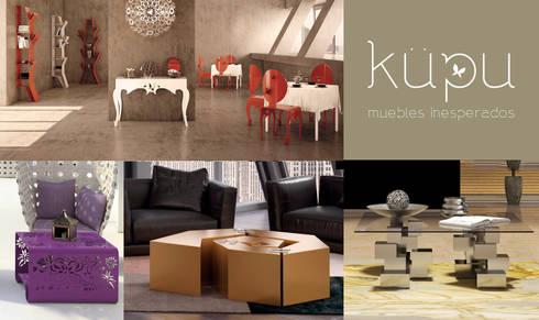Muebles Inesperados:  de estilo  de Küpu Muebles Inesperados