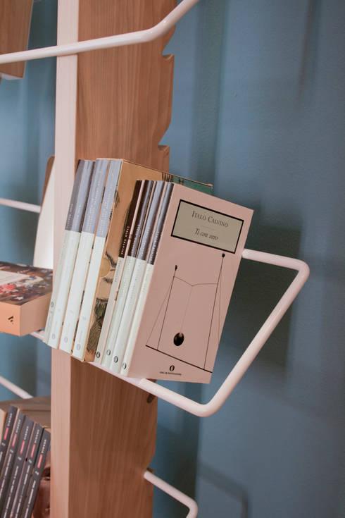 غرفة المعيشة تنفيذ 4P1B Design Studio