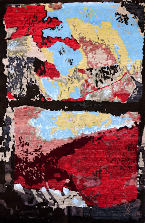 Paredes y suelos de estilo moderno de Svetlana Kuliskova