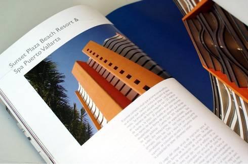 Fachada: Hoteles de estilo  por Quirarte Arquitectura y Diseño