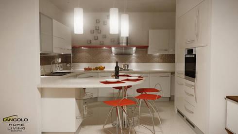 Cucina Sky: Cucina in stile in stile Moderno di FRANCKSONN HOME srls