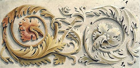 FREGIO CON GIRALI DI ACANTO, particolare:  in stile  di ITALIAN DECOR